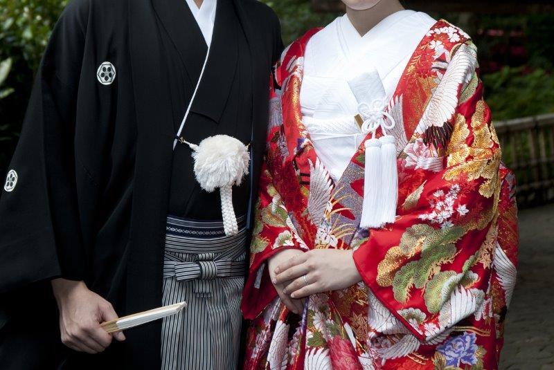 神社での結婚式(神前式)、雨が降ったらどうなるの3