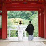外で行う神社での結婚式「神前式」。雨が降ったらどうなるの?