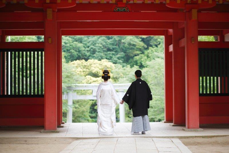 神社での結婚式(神前式)、雨が降ったらどうなるの1