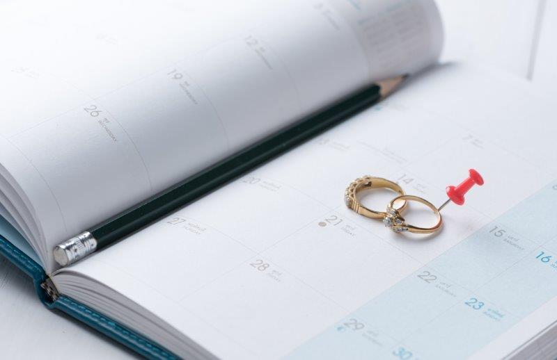 結婚準備をする時間がない!お急ぎ婚のためのスケジュール1