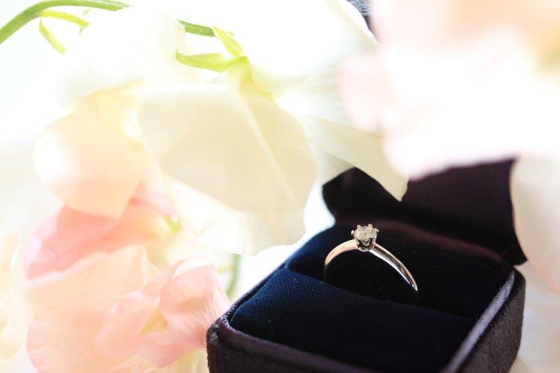 婚約中に婚約指輪はつける?会社ではどうする?