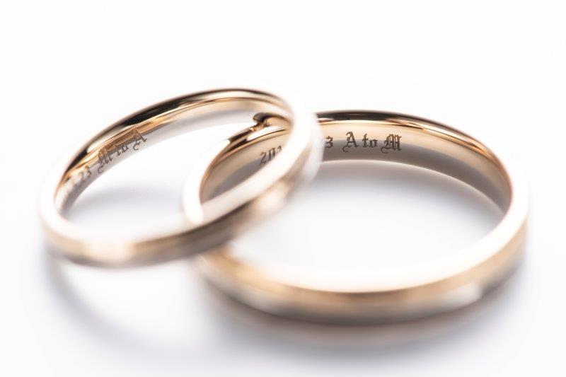 結婚指輪の刻印は名前派?イニシャル派?2