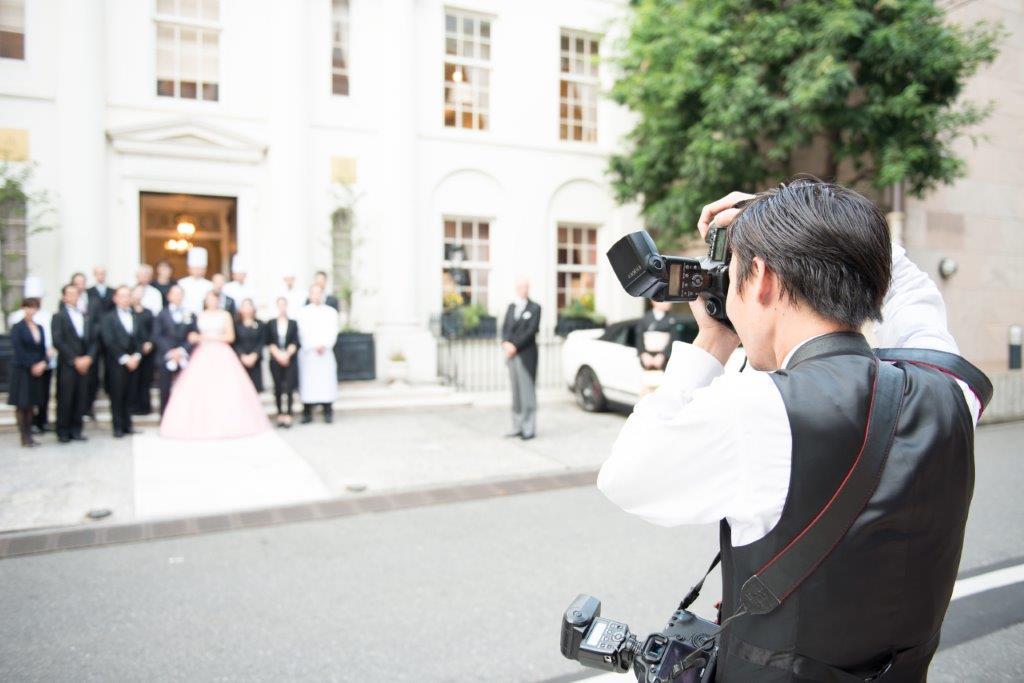 結婚式で家族写真を撮るタイミングや注意点1